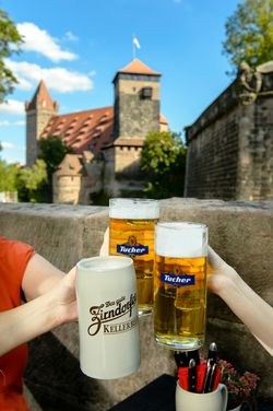 Beer Garden in Nuremberg