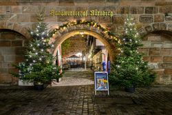 Christmas City Nuremberg - Craftsmen's Courtyard during Advent