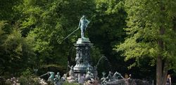 City Park Nuremberg - Neptune Fountain
